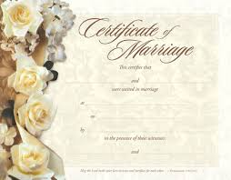 Anniversary Certificate Template Mesmerizing Make A Free Marriage Certificate Magical Printing Designs