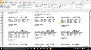 Create Qsl Card Label Via Log4om