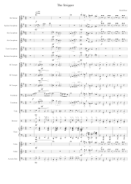 On a daily basis, music composers and arrangers determine voices, instruments, harmonic structures, rhythms, tempos, and tone balances required to achieve the effects desired in a musical composition. The Stripper Sheet Music For Piano Trumpet In B Flat Violin Trombone More Instruments Symphony Orchestra Musescore Com