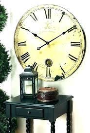 wall clocks pendulum wall clocks uk large clock modern round extra
