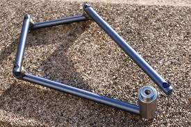 super light new folding titanium bike lock velojoy