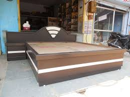 Double Bed Sunmica Designs S K Furnitures Photos Mahesh Nagar Jaipur Pictures