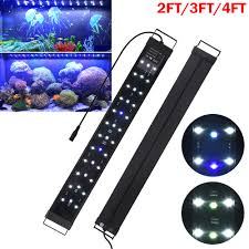 Rohs Led Aquarium Light Details About Led Aquarium Light Full Spectrum Freshwater Fish Tank Plant Marine 24 36 48