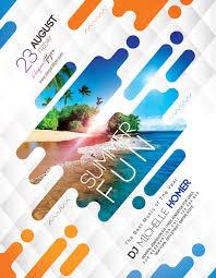 Fun Brochure Templates Summer Fun Free Flyer Template Download Free Flyer Templates