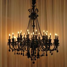 chandelier remarkable black crystal chandeliers black chandelier large black crystal chandeliers eith black candle