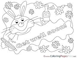 Feel Better Coloring Pages Get Well Coloring Pages Feel Good