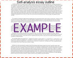 self analysis essay outline coursework help self analysis essay outline