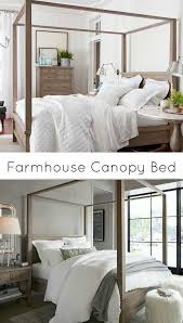 Farmhouse Canopy Bed - I loved the canopy bed I had as a child. It ...