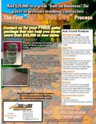 advertising a cleaning business how paver sealing has impacted one contractors business eclean