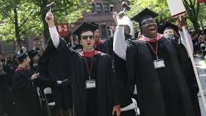 discrimination in job hunting black harvard graduates have the adam derry left and christopher wall right lead the cheers from