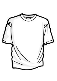 Kleurplaat T Shirt Afb 27879 Images
