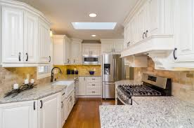 Say Hi To A Classic White Kitchen With Unique Cabinets From Gec