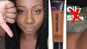 fail new l oreal infallible total cover foundation don t believe the hype you