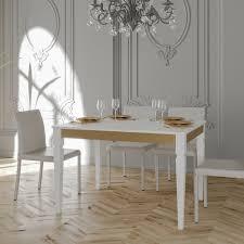 Klassischer Esstisch Ausziehbar Aus Holz Und Metall Made In Italy
