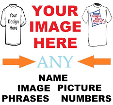 Make Your On Shirt Create Your Own Custom T Shirt Iron On Transfer Any Picture Design