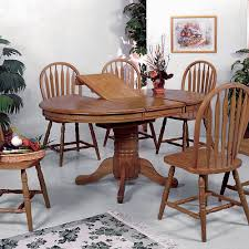 Intercon Kona Solid Mango Wood Dining Table With Butterfly Leaf - Leaf dining room table