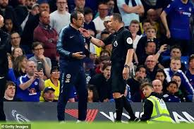 Backroom Team Member Maurizio Sarri Lost His Cool After Being Called S