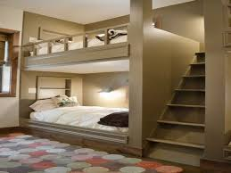 A Bedroom With Adult Bunk Bed