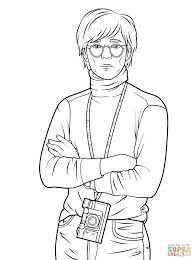 Andy Warhol Coloring Page Printable Pages Andy Page Adult