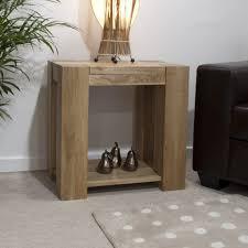 Solid Living Room Furniture Pemberton Solid Chunky Oak Living Room Furniture Lamp Sofa Side