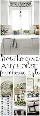 White Kitchen Decor 17 Best Ideas About White Kitchen Decor On Pinterest Kitchen