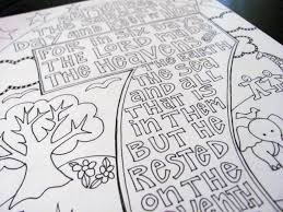Ten Commandments Free Printable Coloring Pages Keep The Sabbath In
