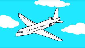 Apprendre Dessiner Un Avion Youtube
