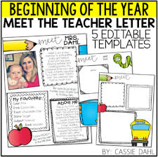 Meet The Teacher Letter Templates Meet The Teacher Letter Templates Spacedesignagency Co