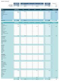 Google Spreadsheets Budget Template Free Google Docs Budget Templates Smartsheet