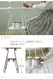 table 60cm in width rohto iron series round table compact roundtable living table cafe table dining table iron leg antique like classic nostalgic iron