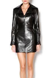 west coast leather nappa leather moto jacket front cropped image