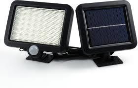 Led Buitenlamp Op Zonne Energie Met Bewegingssensor En Los Zonnepaneel