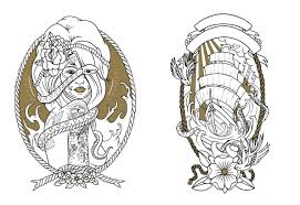 Small Picture Coloring Book Tattoo Coloring Book Pdf Coloring Page and