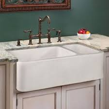 whitehaus quatro alcove reversible fireclay farmhouse sink with