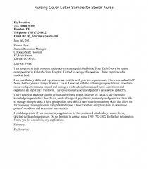 Registered Nurse Cover Letter Australia Chechucontreras Com