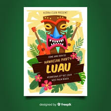 Luau Flyer Hawaii Vectors Photos And Psd Files Free Download