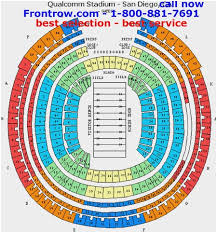 Qualcomm Interactive Seating Chart Kinnick Stadium Seating Chart Rows Qualcomm Stadium Seating