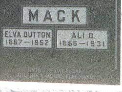 "Florence Elva ""Elva"" Dutton Mack (1867-1952) - Find A Grave Memorial"