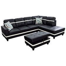 3 piece contemporary sectional sofa