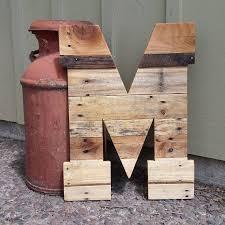 giant wooden letter huge wooden letter
