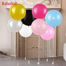1PC Oval Latex <b>Balloons 36 Inch</b> Wedding <b>Decoration Helium Big</b> ...