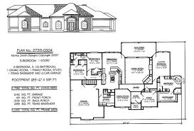 1 Story, 3 Bedrooms, 3 1/2 Bathrooms, 1 Dining Room, 1 Family Room, 1  Study, 1 Texas Basement, 2 Car Garage 2799 Square Feet House Plan Monte  Smith Designs ...