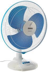 fan. usha maxx air 400mm table fan (blue) n