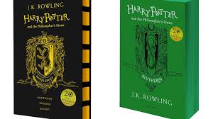harry potter s getting 20th anniversary hogwarts house themed covers