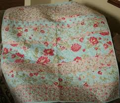 313 best Darling quilts images on Pinterest | Bath, Colors and ... & shabby chic quilts | Moda's Simplicity Fabric, Shabby Chic Blue and Pink Baby  Quilt, Adamdwight.com