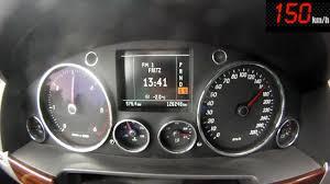 VW Touareg V10 TDI 5.0 0-100 / 100-200 Acceleration - YouTube