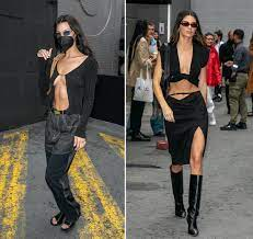 Kendall Jenner and Bella Hadid Matched ...