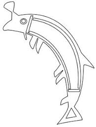 coloring pages aboriginal trout s fishes free printable