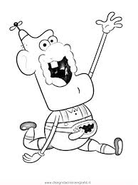Small Picture Uncle Grandpa Coloring Pages Coloring Pages