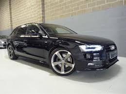 black audi a4 2015. Modren Black AUDI A4 B8 AVANT TDI S LINE BLACK EDITION 2015 2015 And Black Audi G